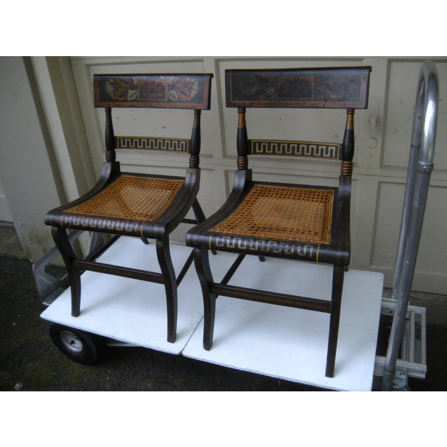 - Antique Dealers Association Of America - Pair Of Baltimore Fancy Chairs