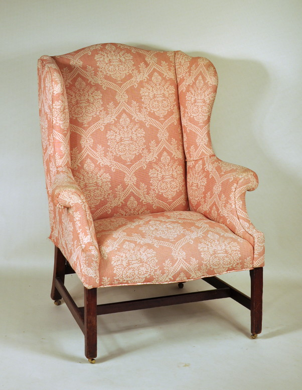 - Antique Dealers Association Of America - Chippendale Mahogany Wing Chair