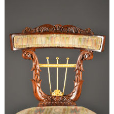 Close up of Chair Carving