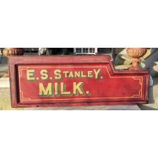 Milk sign