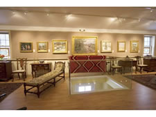 Image of our upstairs gallery.
